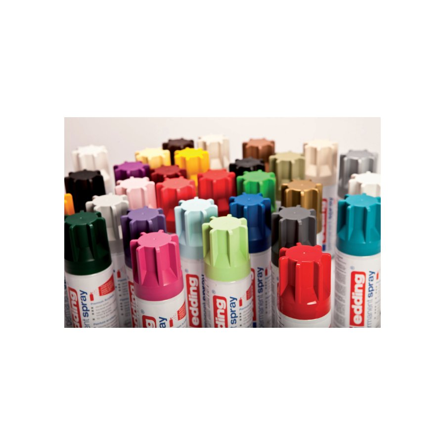 verfspuitbus edding 5200 permanent spray mat rijkgoud - repro bvba